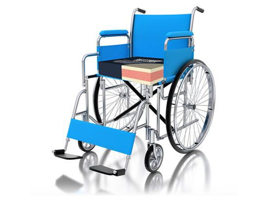 Memtex Wheel Chair Cushion
